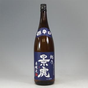 越乃景虎 超辛口 本醸造 1800ml  [1108]