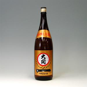 大関 特撰金冠 1.8L  [125]