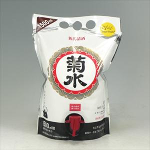 菊水 白 スマートパウチ 1.5L  [1288]
