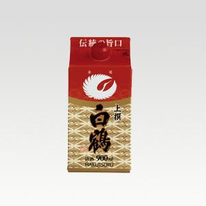 白鶴 サケパック 上撰 900ml  [1320]