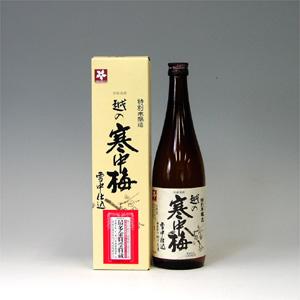 越の寒中梅 特別本醸造 720ml  [1457]