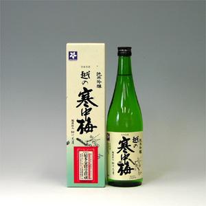 越の寒中梅 純米吟醸 720ml  [1458]
