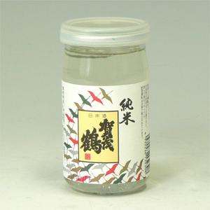 賀茂鶴 純米カップ 180ml 広島県  [1773]