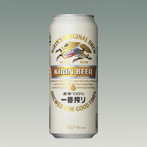 キリン 一番搾り(生)缶 500ml  [2010]