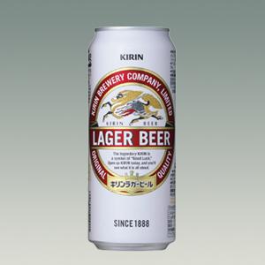 キリン ラガービール L缶 500ml  [2034]
