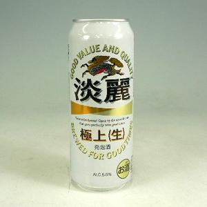 キリン 淡麗 (生) L缶 500ml  [2062]