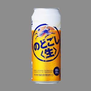 キリン のどごし (生) L缶 500ml  [2087]