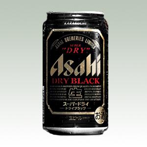 アサヒ ドライブラック R缶 350ml  [2105]