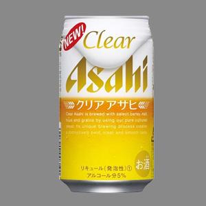 アサヒ クリアアサヒ R缶 350ml  [2113]