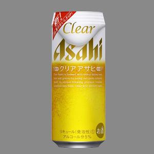 アサヒ クリアアサヒ L缶 500ml  [2114]