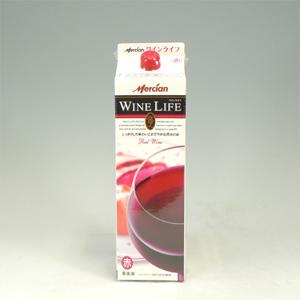 メルシャン ワインライフ 赤 1800ml  [21355]