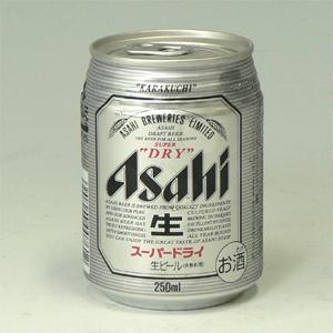 アサヒ スーパーDRY 生ミニ缶 250ml  [2150]
