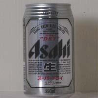 アサヒ スーパーDRY(生)缶 350ml  [2157]