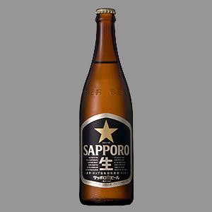 サッポロ 黒ラベル生 中瓶 500ml  [2256]