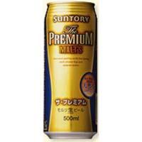 サントリー プレミアムモルツ L缶 500ml  [2302]