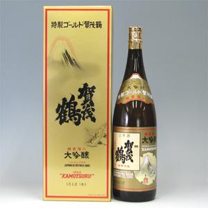 賀茂鶴 ゴールド DX 化粧箱詰1800ml  [26]