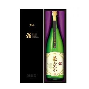 菊正宗 嘉宝蔵 「雅」特別純米酒 1.8L  [33]