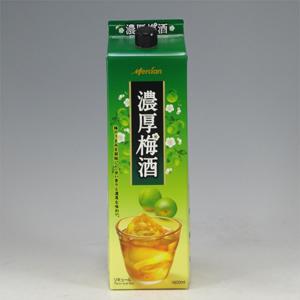 キリン 濃厚梅酒 パック    1.8L  [3345]