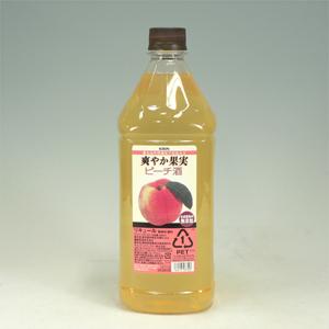 さわやか果実 ピーチ酒 ペット 1.8L  [3420]