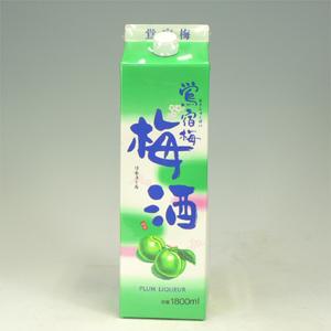 ハチ梅酒 鴬宿梅 パック 1800ml  [3491]