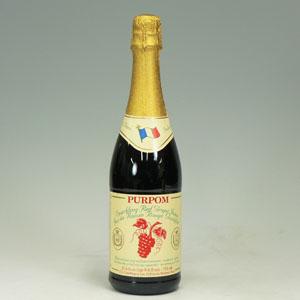 ピュアポム スパークリングジュース グレープ赤750ml  [3901]