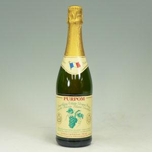 ピュアポム スパークリングジュース グレープ白750ml  [3902]