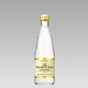 サントリー プレミアムソーダ 瓶240ml  [4316]