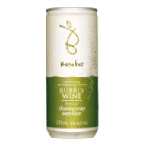 バロークス スパークリング缶ワイン 250ml 白  [432735]