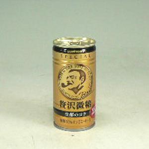 サントリー ボス 贅沢微糖 190g  [4337]