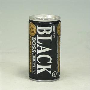 サントリー ボス ブラック 缶 185g  [4342]