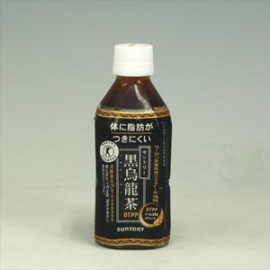 サントリー 黒鳥龍茶 ペット 350ml  [4416]
