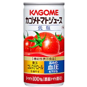 カゴメ トマトジュース 缶 190g  [4561]