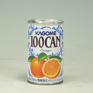カゴメ 100%オレンジ 缶 160g  [4586]