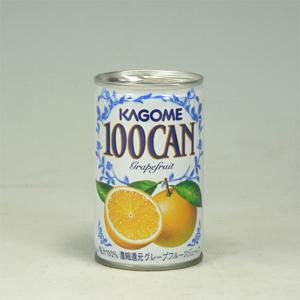 カゴメ 100グレープフルーツ缶 160g  [4589]
