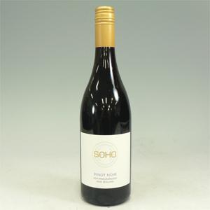 ソーホー ホワイトコレクション ピノノワール 2014 赤 750ml SOHO White Collection Pinot Noir  [480015]