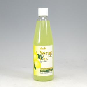 アサヒ シロップ レモン 600ml  [4881]