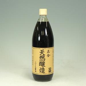 正金 天然醸造 濃口 1L  [5421]