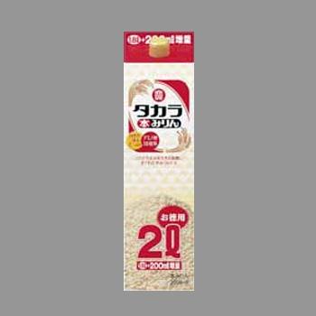 宝 みりん 紙パック 2L  [5654]