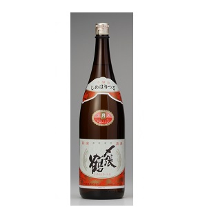 〆張鶴 月 本醸造 1.8L  [586]