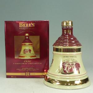 ベル 8年 1996 クリスマスボトル 40° 700ml  [610338]