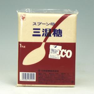 中白(三温糖) 1kg  [6133]
