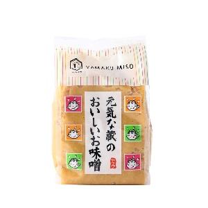 ヤマク 元気な蔵のおいしいお味噌 500g  [6189]
