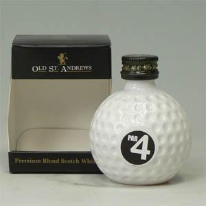 オールド セント・アンドリューズ Blended Whisky Golfball 50ml  [650136]