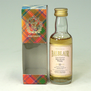 バフルレア 10年 Balblair highlandmalt 50ml  [650408]