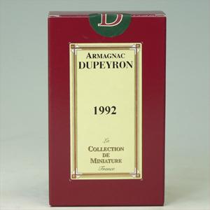 デュペイロン・アルマニャクブランデー 1992年(平成4年) 50ml   [651492]