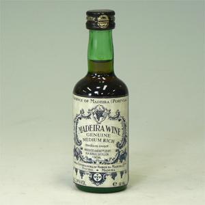 マディラワイン ミディアムリッチ 50ml   [652023]