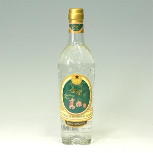 金星高粮酒(キンボシコウリャンシュ)瓶 アルコール52% 500ml  [660055]
