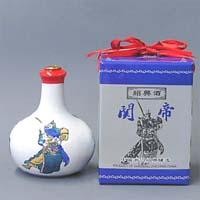 紹興酒 関帝白磁(カンテイハクジ) 17% 500ml  [660270]