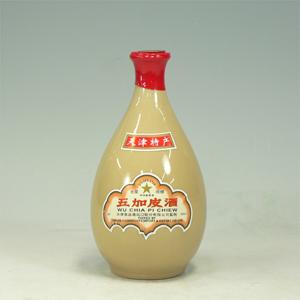 天津五加皮酒(テンシンゴカヒシュ)壺 アルコール50% 500ml  [660332]