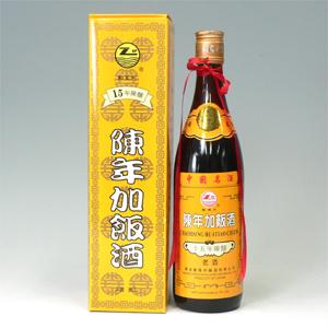 紹興酒 鄭萬利(テンマリ) 紹興加飯酒 15年陳醸 アルコール18% 640ml  [660335]